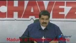 Maduro pelea con Perú mientras Venezuela se hunde en la crisis