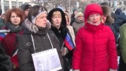 Marcha en Rusia recordando a Boris Nemtsov, opositor asesinado en el 2015