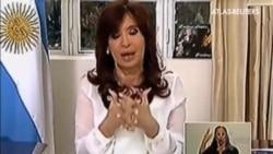La Presidenta argentina anuncia la disolución de la Secretaría de Inteligencia