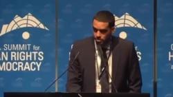 Intervención de El Sexto en la Novena Cumbre Anual de Ginebra para los DDHH y la Democracia (parte I)