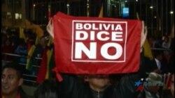 Miles protestan en Bolivia contra reelección indefinida de Evo Morales