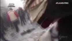 Bombardeos contra objetivos del Estado Islámico