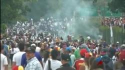 Oposición venezolana continúa desafío al régimen de Nicolás Maduro