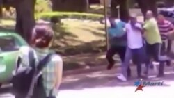Violenta represión contra Damas de Blanco