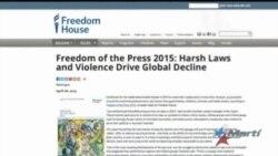 """Cuba en """"lo peor de lo peor"""" de la lista de libertad de prensa"""