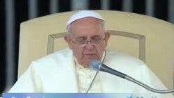 Papa Francisco anuncia colocación de imagen de la Virgen de la Caridad del Cobre en jardines del Vaticano