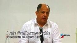 Solís se siente defraudado con vecinos por crisis de cubanos